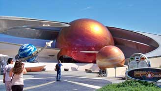 Mission Space Pavilion At Epcot
