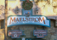 Maelstrom is a boatride attraction in the Nirway Pavilion at Epcot.