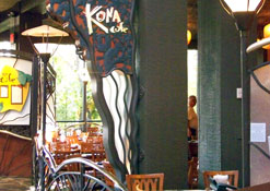The Kona Cafe at the Polynesian Resort