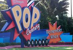 Disney's Pop Century Entrance