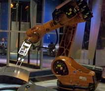 Interactive Robot at Innoventions West at Epcot
