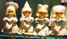 dolls from