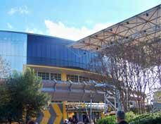 Test Track Pavilion Outside Track