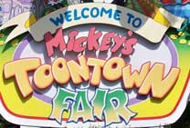 Mickey's Toontown Fair Entrance