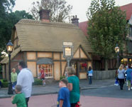 the Tea Caddy shop in the United Kingdom at Epcot.