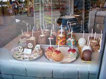 Candy Apples from the Candy Cauldron at Downtown Disney Westside