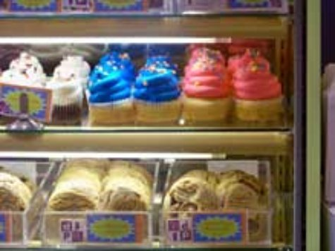 Candy and pastry counter at Seashore Sweets