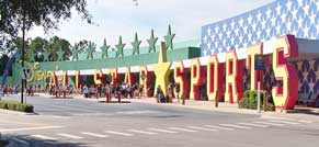 Entrance to All Star Sports Resort