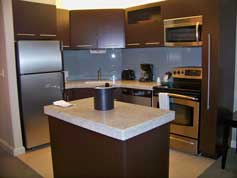 Kitchen in 2 Bedroom Unit at Disney's Bay Lake Tower