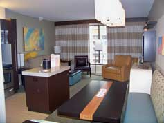 Bay Lake Tower Dining Area in2 Bedroom Unit