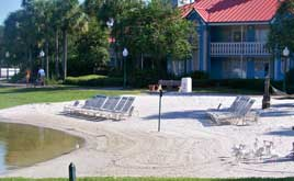 Sandy Beach at Caribbean Beach Resort