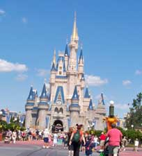 Cinderella Castle in Magic Kingdom