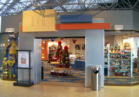 The BVG giftshop at the Contemporary Resort