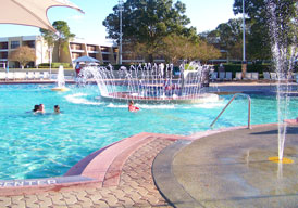 The pool at the Contemporary Resort