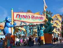 Chester and Hester's Dino-Roma at Disney's Animal Kingdom.