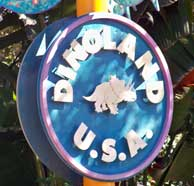 DinoLand USA Entrance at Disney's Animal Kingdom.
