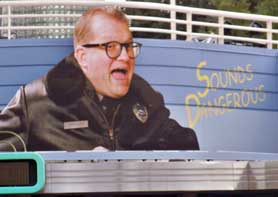 Sound Dangerous Starring Drew Carey At Hollywood Studios