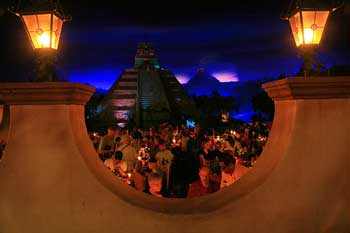 The San Angel Inn in the Mexico Pavilion