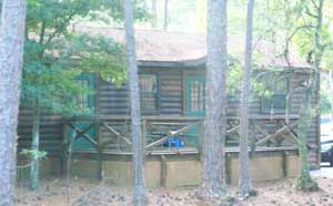 Wilderness Cabin at Fort wilderness Campground
