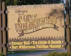 Disney's Fort Wilderness Campground