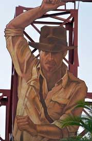 Indiana Jones Stunt Spectacular at Hoolywood Studios
