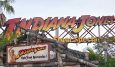 Indiana Jones Stunt show at Disney's Hollywood Studios