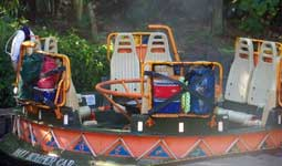Kali River Rapid Raft in Asia at Disney's Animal Kingdom.