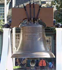 The Liberty Bell in the Magic Kingdom