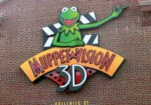 Muppet Vision 3D attraction at Disney's Hollywood Studios