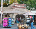 The Village Trader outdoor shop in The Outpost.