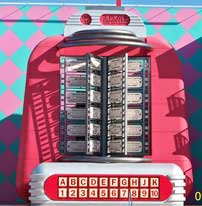 50's jukebox at Disney's Pop Century Resort