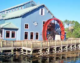 Port Orleans Riverside Waterwheel
