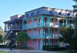 Port Orleans French Quarter Exterior Building