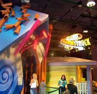 Stormstruck Exhibit  teaches about storm safety