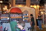 Gift shop at the Star Tours Attraction