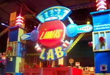 Entrance to the Test the Limits Lab in Epcot