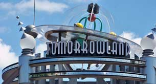 Entrance to Tomorrowland