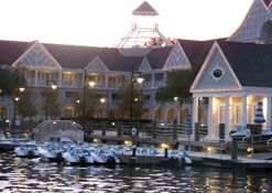 The Marina at The Yacht Club Resort